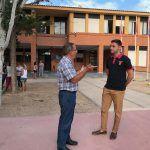 Alumnos y alumnas de Educación Infantil y Primaria de Torre Pacheco empiezan el curso escolar.