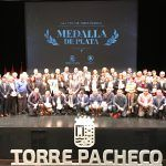 53 entidades ciudadanas del municipio reciben la Medalla de Plata Villa de Torre Pacheco.