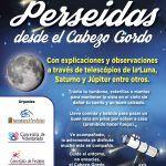 Perseidas desde el Cabezo Gordo, Torre Pacheco.